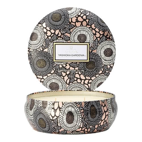 Voluspa Yashioka Gardenia 3 Wick Candle by Voluspa