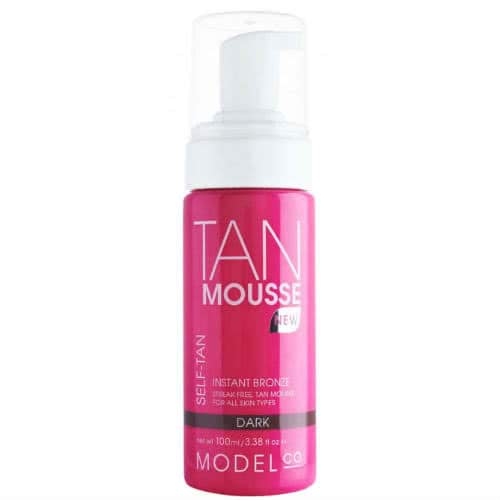 ModelCo Tan Mousse - Instant Bronze - Dark by ModelCo