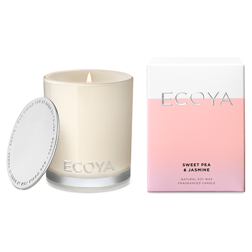 Ecoya Mini Madison Jar Candles - Sweet Pea & Jasmine by Ecoya