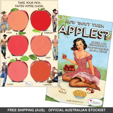 theBalm How 'Bout Them Apples? Cheek & Lip Cream Palette  by the Balm