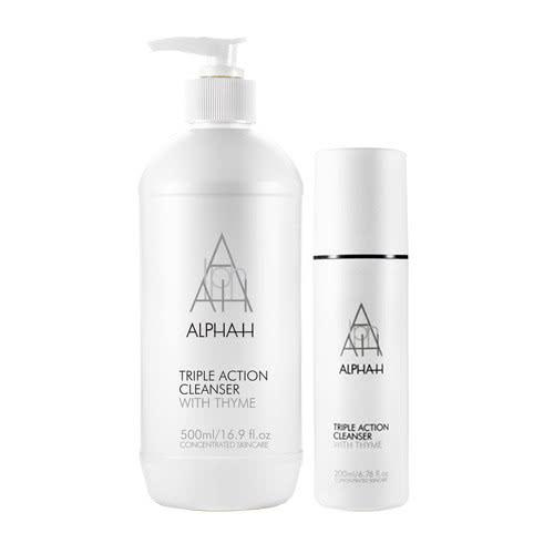 Alpha-H Triple Action Cleanser Range by Alpha-H