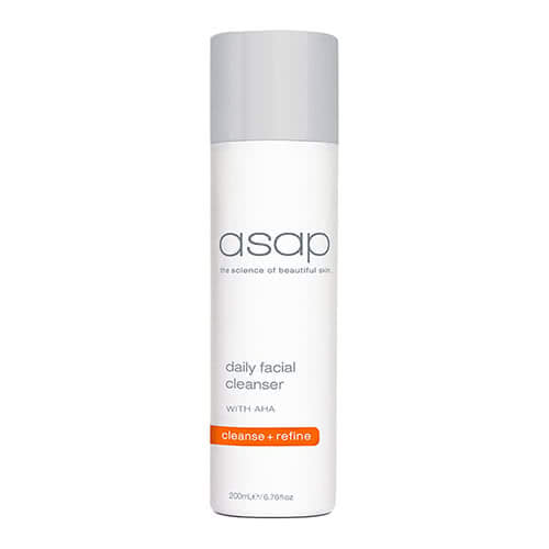 asap daily facial cleanser 200ml