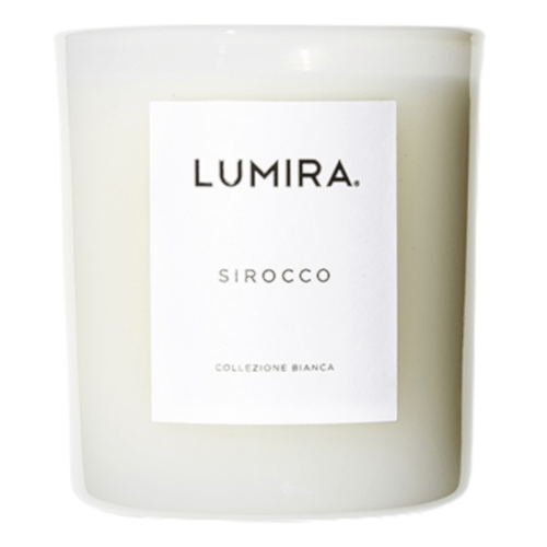 Lumira White Candle Sirocco 300g by Lumira