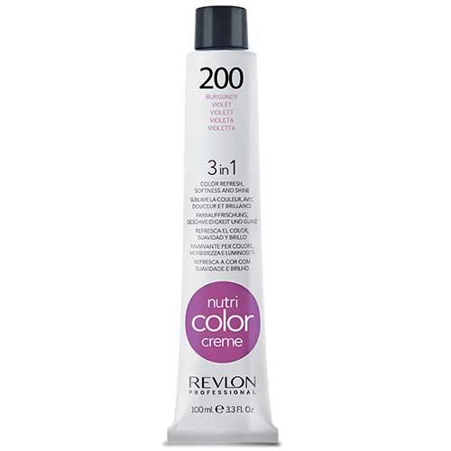 Revlon Professional Nutri Color Crème - 200 Burgundy by Revlon Professional
