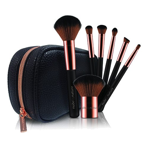 Nude by Nature Essential Collection 7 Piece Brush Set