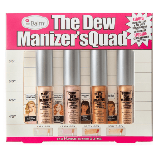 theBalm Dew Manizers Quad  - Glow & Highlight  by theBalm