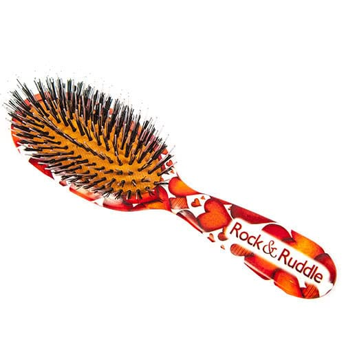 Rock & Ruddle Boar Bristle Large - Hearts  by Rock & Ruddle