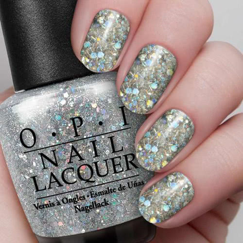 OPI Spotlight On Glitter Nail Polish Collection Desperately Seeking Sequins  by OPI color Desperately Seeking Sequins