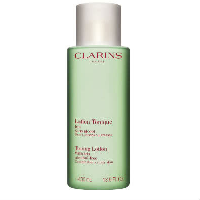 Clarins Toning Lotion with Iris 400mL - Limited Edition