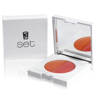 NP Set Shimmer Highlight Duo-Pink/Peach
