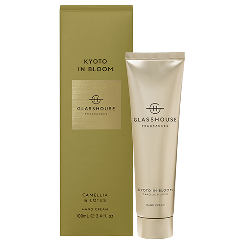 Glasshouse KYOTO IN BLOOM Hand Cream 100ml by Glasshouse Fragrances