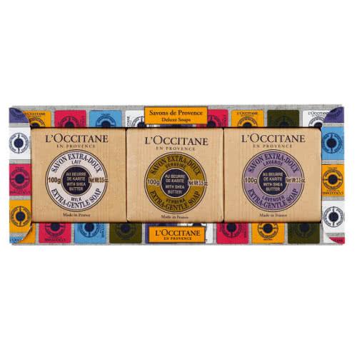 L'Occitane Savons De Provence Deluxe Shea Soap Trio - 2014 by L'Occitane