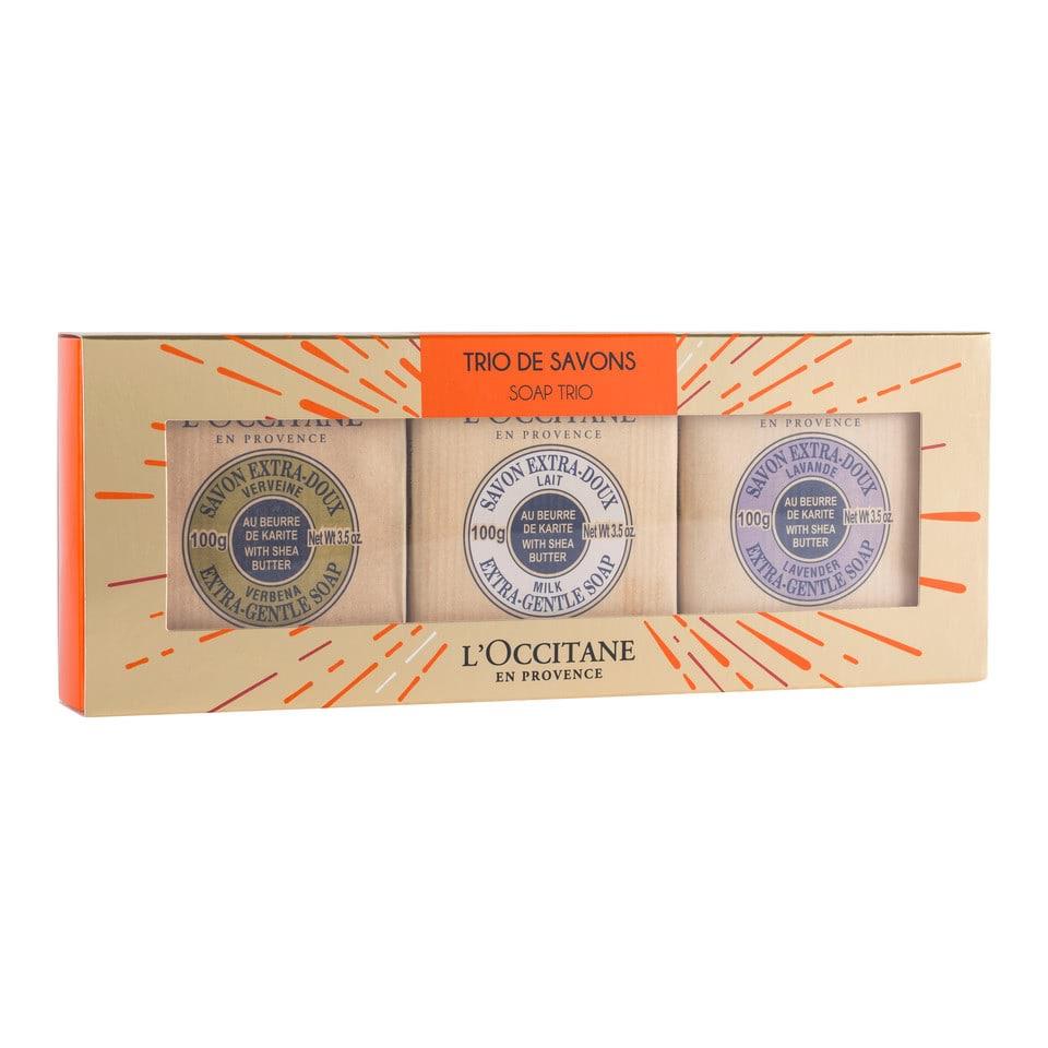 L'Occitane Deluxe Soap Trio by L'Occitane