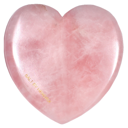 SALT BY HENDRIX Rose Quartz Love Gua Sha