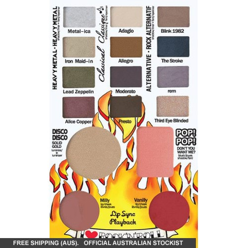 theBalm Balm Jovi Rockstar Face Palette by the Balm