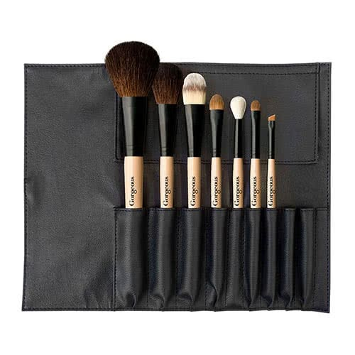 Gorgeous Cosmetics Perfect Seven Brush Roll by Gorgeous Cosmetics