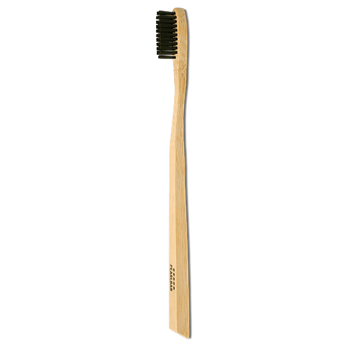 PearlBar Bamboo + Charcoal Toothbrush - Adult Medium