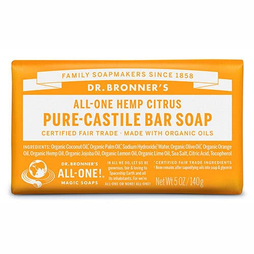 Dr. Bronner Castile Bar Soap - Citrus by Dr Bronner-s