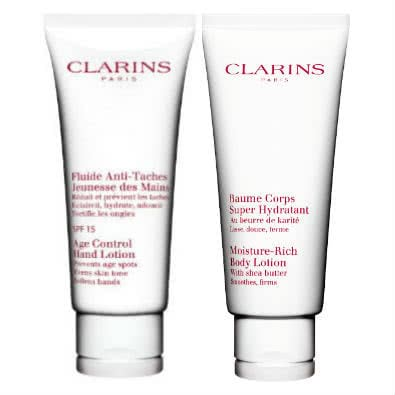 Clarins Hand SPF15 & Body Lotion Gift Set  by Clarins