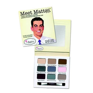 theBalm Meet Matt(e)