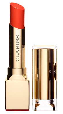 Clarins Rouge Eclat Satin Finish Age-Defying Lipstick-09 Juicy Clemetine
