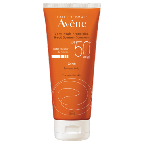 Avène Sunscreen Lotion Face & Body SPF50+