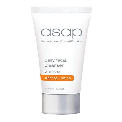 asap daily facial cleanser travel tube 50ml