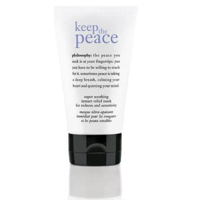 philosophy keep the peace super soothing instant relief mask
