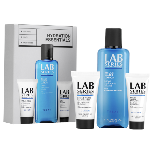LAB Series  Rescue Water Lotion 3 Step Hydration Set