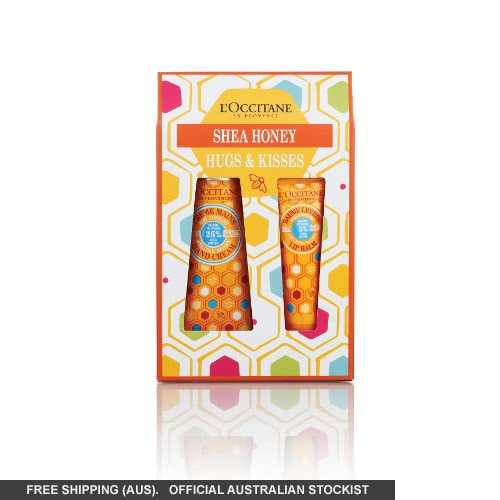 L'Occitane Shea Honey Hugs & Kisses Set by loccitane