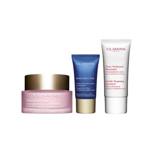 Clarins Multi-Active Essentials Skin Trio Set by Clarins