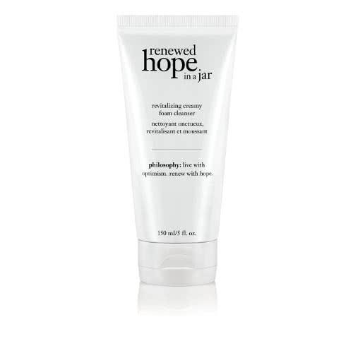 philosophy renewed hope in a jar revitalizing creamy foam cleanser by philosophy