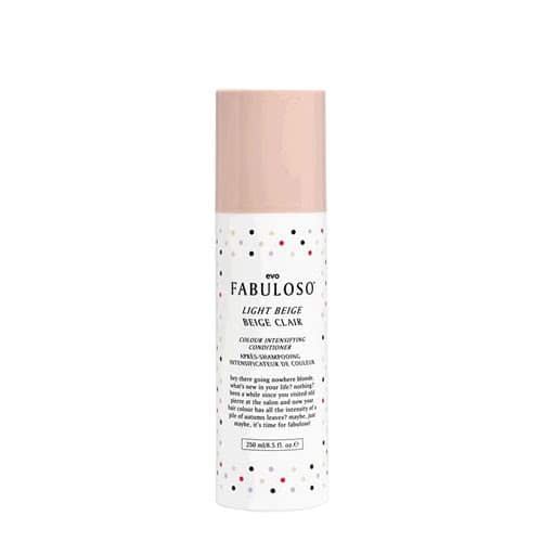 evo fabuloso light beige colour intensifying conditioner 250ml by evo