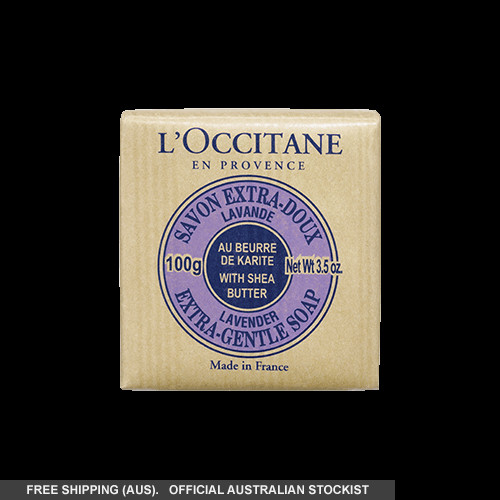 L'Occitane Extra Gentle Lavender Soap with Shea - 100g by loccitane