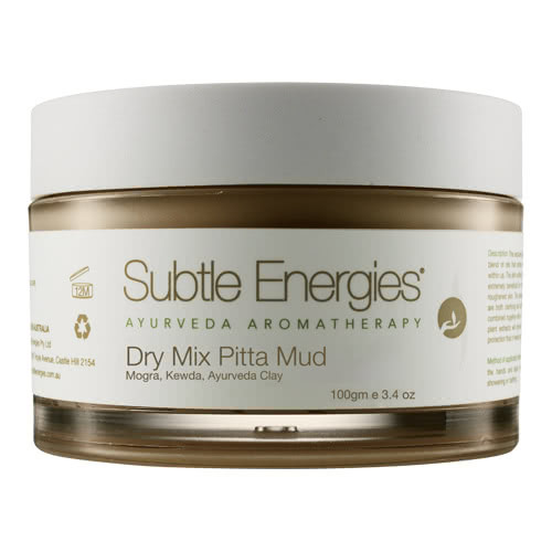 Subtle Energies Dry Mix  Pitta Face Mud Mask