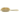 Janeke Gold Hairbrush with Gold Bristles - Classic