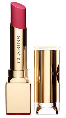 Clarins Rouge Eclat Satin Finish Age-Defying Lipstick-04 Tropical Pink