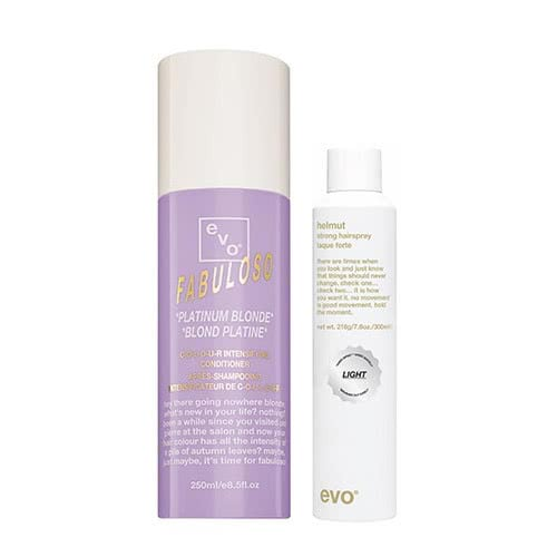 evo fabuloso platinum blonde finishing duo by evo