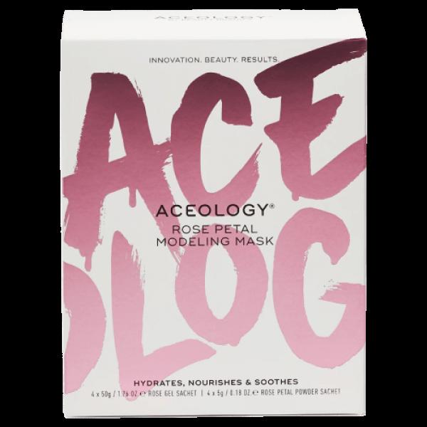 Aceology Rose Petal Modeling Mask 4 Pack