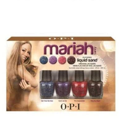 OPI Mariah Carey featuring Liquid Sand Mini Nail Polish Set
