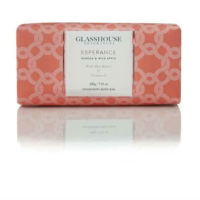 Glasshouse Esperance Nourishing Body Bar - Mimosa & Wild Apple  by Glasshouse Fragrances