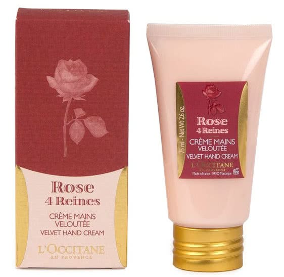 L'Occitane Rose 4 Reines Velvet Hand Cream 75ml