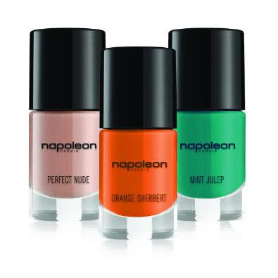 Napoleon Perdis Polished3 Pack 3: Perfect Nude/Orange Sherbert/Mint Julep