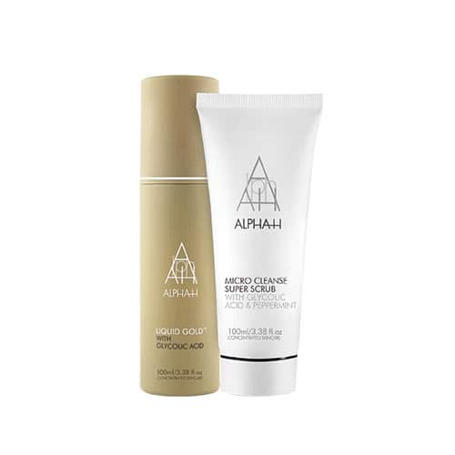 Alpha-H Liquid Gold + Micro Cleanse Super Scrub Duo by Alpha-H