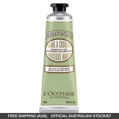 L'occitane Delicious Hands With Almond Milk