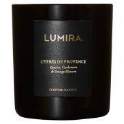 Lumira Glass Candle - Cypres de Provence
