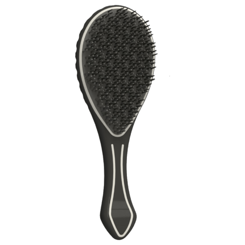 Air Motion Detangling Hair Brush- White by Air Motion