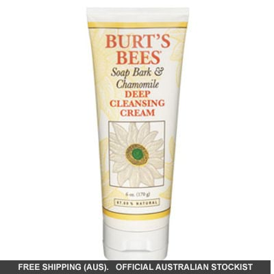Burt's Bees Soap Bark Deep Cleansing Cream