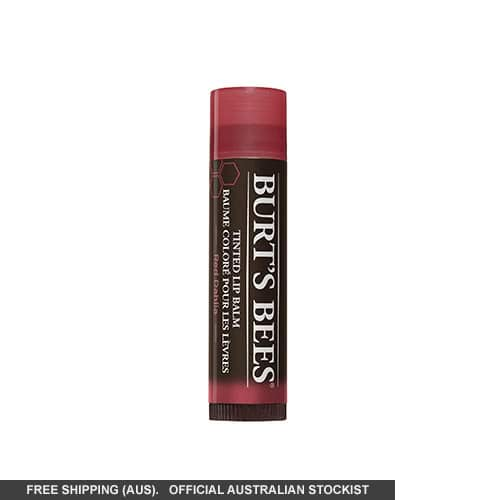 Burt's Bees Tinted Lip Balm-Red Dahlia