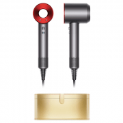 Dyson Limited Edition Supersonic Red + Gold Case
